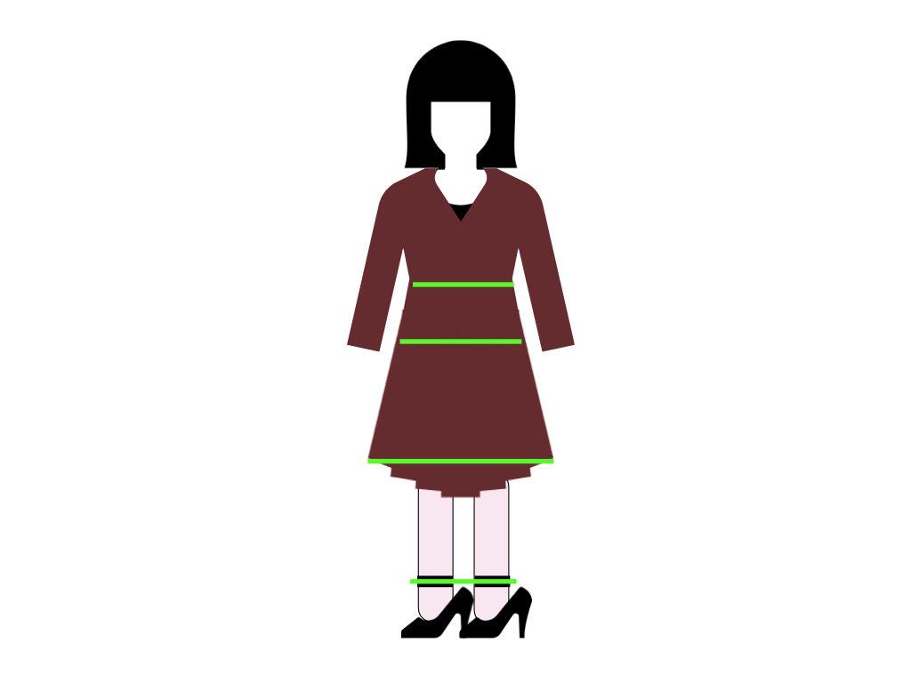 丸山敬太さんコーディネートに横線が入るとスタイルが悪く見える